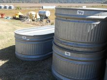 QTY 3) CATTLE WATER TANKS