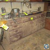"""80"""" x 24"""" work bench/cabinet w/"""
