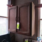 Upper cabinet w/contents (misce