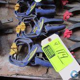 Irwin Quick Grip clamps