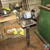 """6"""" Tool Shop bench grinder w/st"""