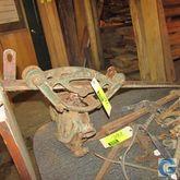 Iron hoist, rail mounted