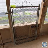 3' Chain link fence gate