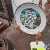 """7"""" Indian prayer plate with sta"""