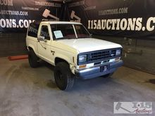 1986 Ford Bronco II with curren