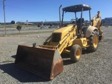 555E Holland 4x4 Tractor Loader
