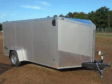 2017 Stealth 7x12 Enclosed Tag