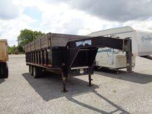 Texas Bragg 21' Hydraulic Dump