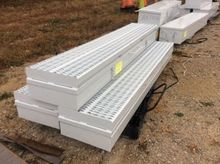 """(3) Steel Tool Boxes, 100"""" long"""
