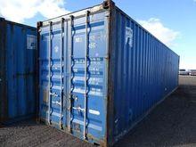 40' Steel Storage Container, Hi