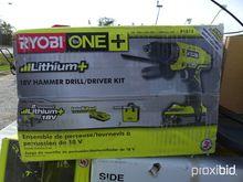 Ryobi 18v Cordless Hammer Drill