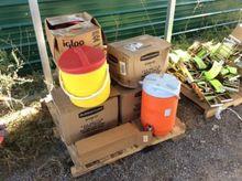 (8) water coolers, Igloo and ru