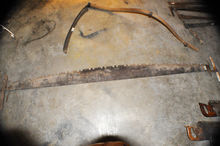 "Giant 2 Man Crosscut Saw 84"" Bl"