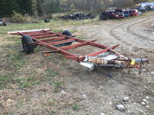HOMEMADE SINGLE AXLE UTILITY TR
