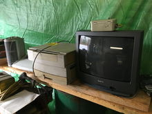 SANYO TV, CANON PC720, BROTHER