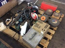PALLET OF HAND TOOLS, GRINDING