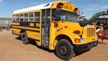 School bus, title in office