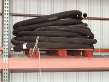 PALLET OF DISCHARGE / PUMP HOSE