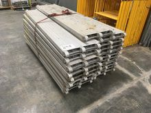 21 - 7' aluminum scaffold plank
