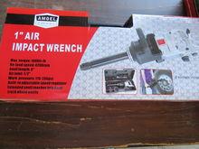 """Amoel 1"""" Impact Wrench Kit"""