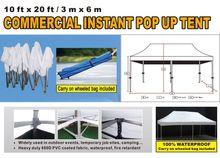 10'x20' Blue Pop Up Tent