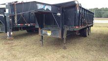 """Texas Bragg 20' 96"""" Dump Traile"""