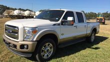 2013 FORD F250 KING RANCH WHITE