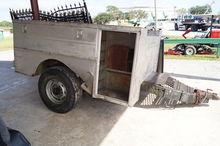 Single Axel Truck Body Trailer