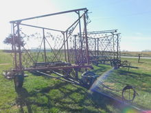 FUERST 30FT HARROW FOR PARTS &