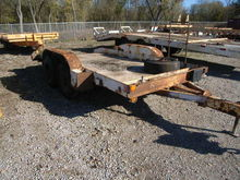 1990 Butler dual axle trencher