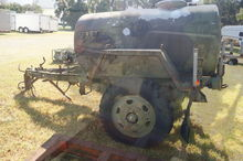 Military Trailer with Mounted W