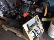 PALLET OF TOOLS, MONEY COUNTER,