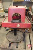 (2) rolling shop stools
