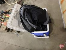 Coleman cooler caddy and Thule