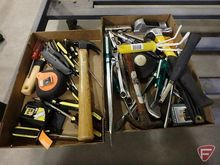 Hammers, screw drivers, utility