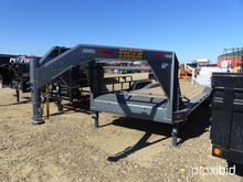 24' GN DRIVEOVER TRAILER (GRAY)