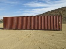 """CIMC 8' x 40' x 9'6"""" Container"""