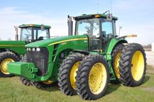 '09 JD 8430 MFWD Tractor