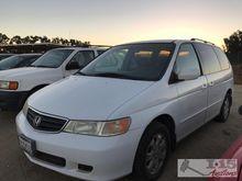 2002 Honda Odyssey White