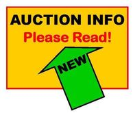 AUCTION POLICIES, PLEASE READ