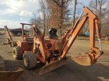 Ditch Witch Gas trencher/backho