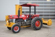 MF 165 2wd tractor, canopy, hyd