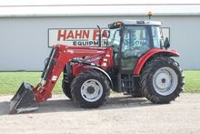 MF 5445 4wd tractor, cab, air,