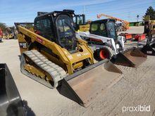 2014 CAT 299D RUBBER TRACKED SK