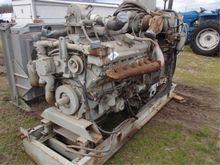 V-12 92 Detroit w/175 KW Genera