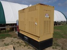 75 KW Generator w/White Diesel