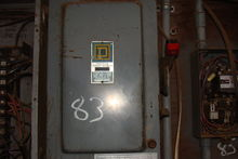 SQUARE D 60 AMP SAFETY SWITCH