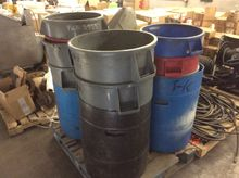 PALLET OF WASTE CONTAINERS