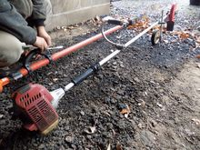 Red Max Gas Powered Edger