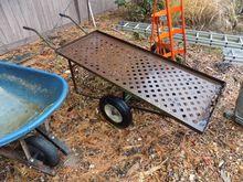 Green Steel Plant Cart